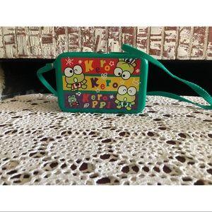 Vintage Sanrio Keroppi tin purse